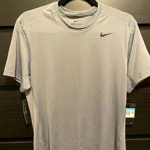 Brand new Nike Dri-Fit. Gray/Silver. Medium